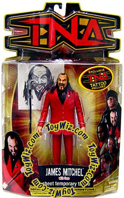 TNA Wrestling Series 8 James Mitchell Action Figure