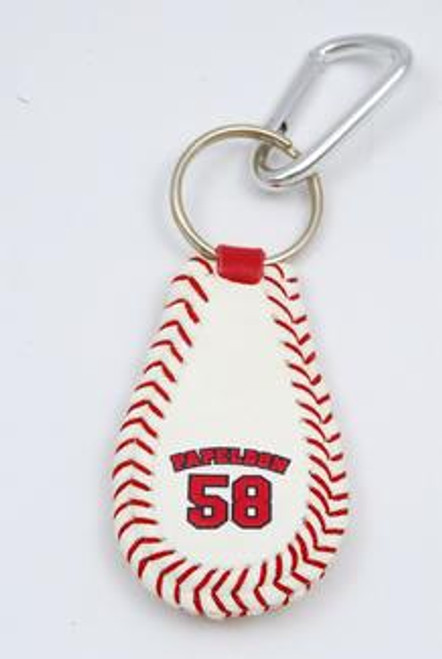 MLB Boston Red Sox GameWear Jonathan Papelbon Keychain #58