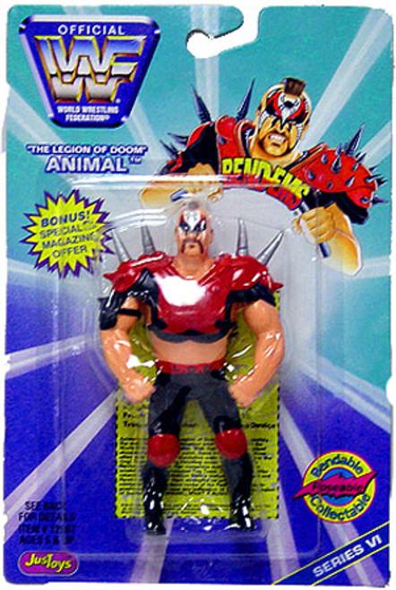 WWE Wrestling WWF Bend-Ems Series 6 Animal Action Figure