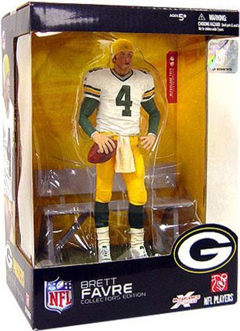 McFarlane Toys NFL Green Bay Packers Sports Picks Collector's Edition Boxed Set Brett Favre Action Figure
