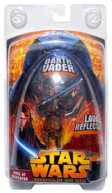 Star Wars Revenge of the Sith 2005 Duel at Mustafar Darth Vader Exclusive Action Figure