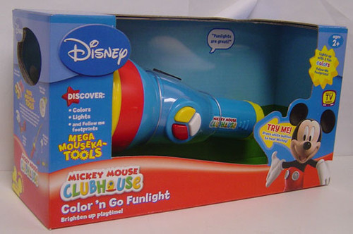 Disney Mickey Mouse Clubhouse Color 'n Go Funlight Roleplay Toy