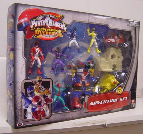 Operation Overdrive Power Rangers Adventure Set PVC Figures [Set B]