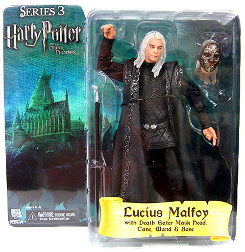 NECA Harry Potter The Order of the Phoenix Series 3 Lucius Malfoy Action Figure