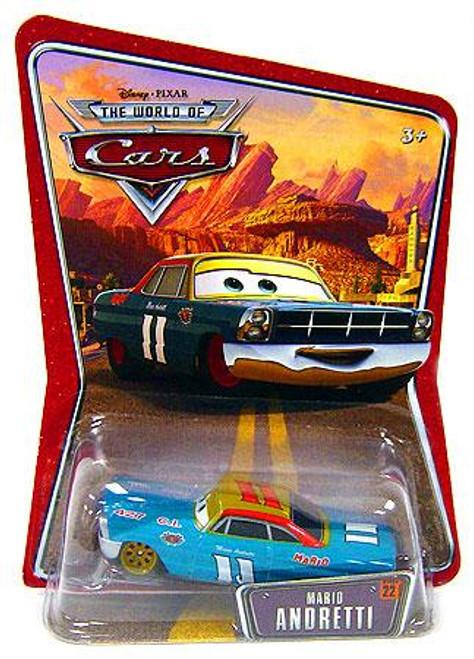 Disney Cars The World of Cars Series 1 Mario Andretti Diecast Car #22