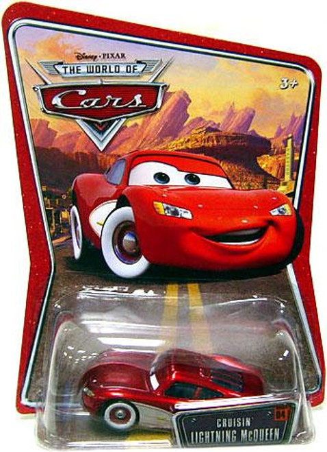 Disney Cars The World of Cars Series 1 Cruisin' Lightning McQueen Diecast Car
