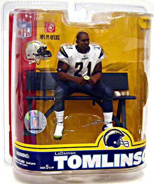 McFarlane Toys NFL San Diego Chargers Sports Picks Series 16 LaDainian Tomlinson Action Figure [White Jersey Variant]