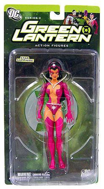 DC Green Lantern Series 3 Star Sapphire Action Figure