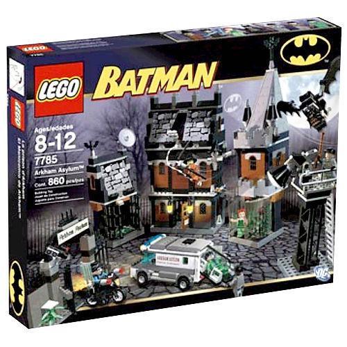 LEGO Batman Arkham Asylum Set #7785