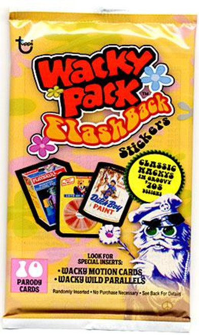 Wacky Packages Flashback 1 Wacky Packages Flashback Trading Card Sticker Pack