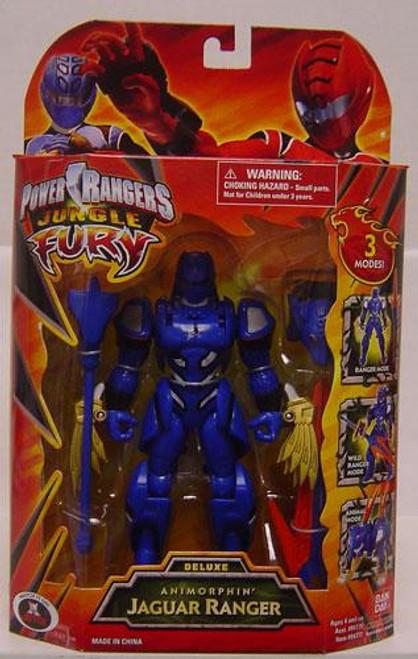 Power Rangers Jungle Fury Deluxe Animorphin' Jaguar Ranger Action Figure