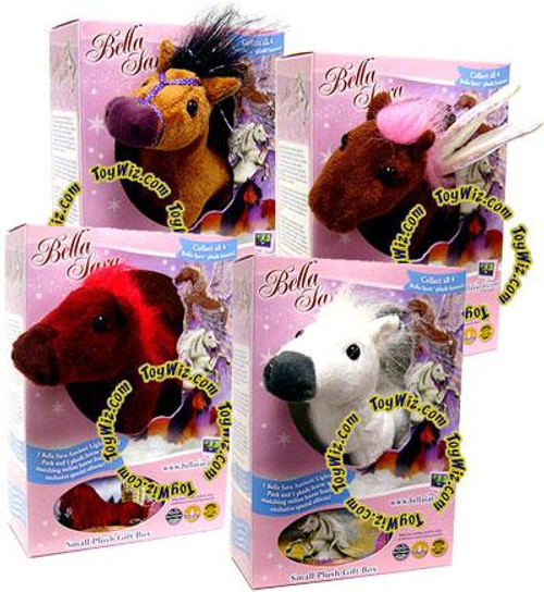 Bella Sara Set of 4 5-Inch Plush Figures