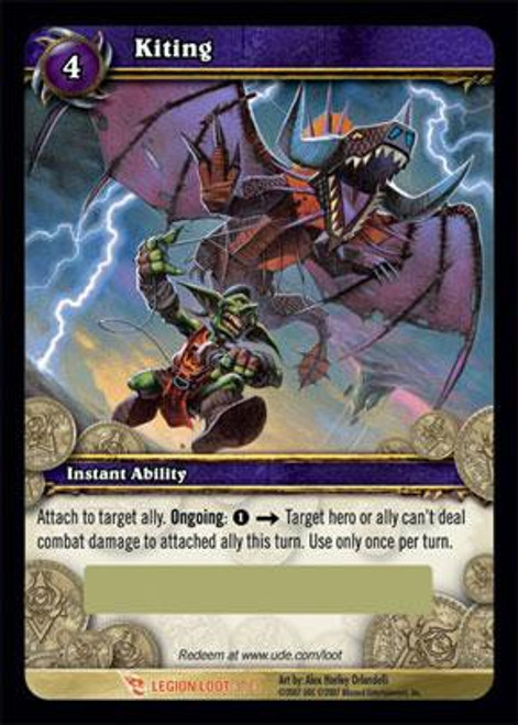 World of Warcraft Trading Card Game March of the Legion Legendary Loot Kiting #3