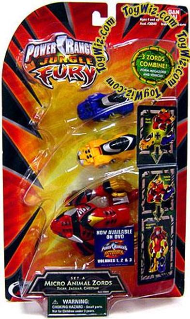 Power Rangers Jungle Fury Micro Animals Micro Animal Zord Minifigures [Set A]