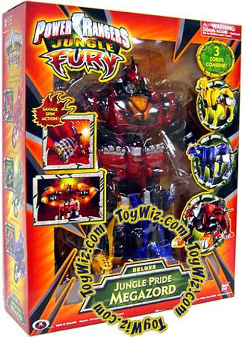 Power Rangers Jungle Fury Deluxe Jungle Pride Megazord Action Figure