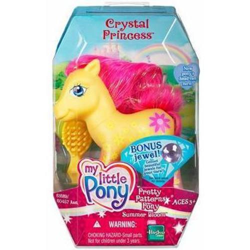 My Little Pony Crystal Princess Pretty Patterns Summer Bloom Figure