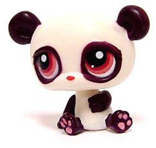 Littlest Pet Shop Panda Figure #387 [Chinese Loose]