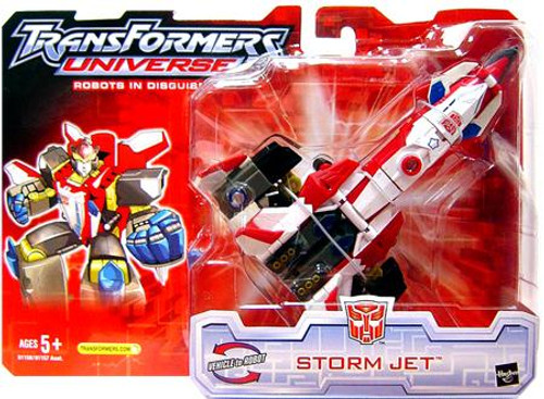 Transformers Universe Robots in Disguise Storm Jet Action Figure