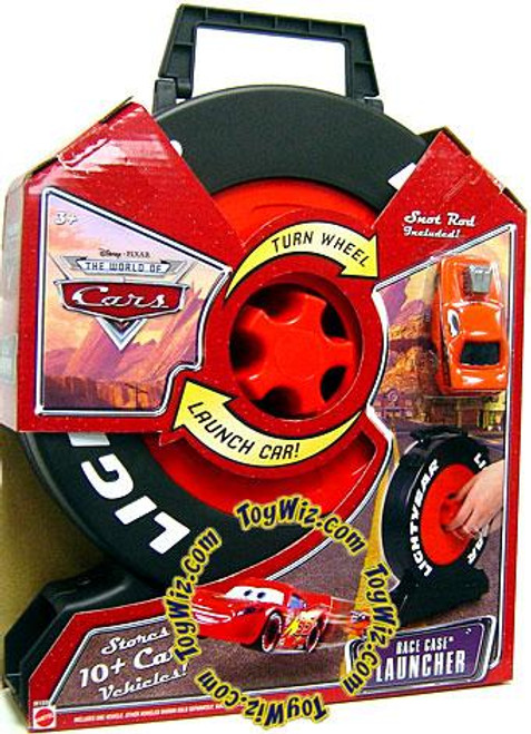 Disney Cars The World of Cars Playsets Race Case Launcher Storage Case