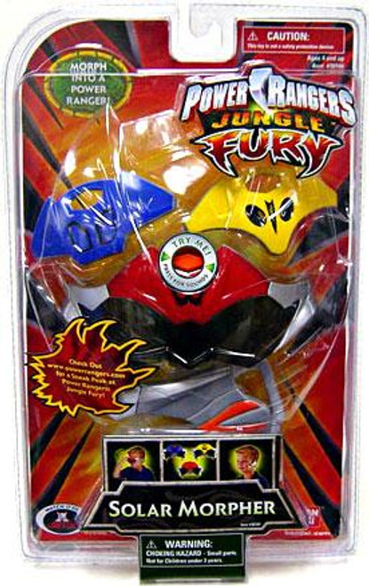 Power Rangers Jungle Fury Solar Morpher Roleplay Toy