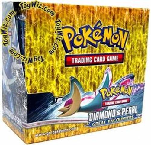Pokemon Diamond & Pearl Great Encounters Booster Box [Sealed]