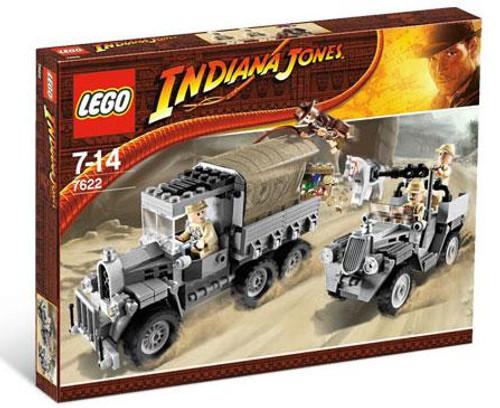 LEGO Indiana Jones Race for the Stolen Treasure Set #7622