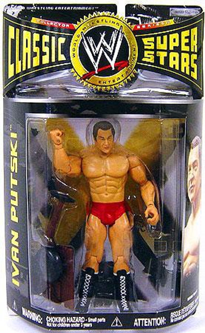 WWE Wrestling Classic Superstars Series 17 Ivan Putski Action Figure