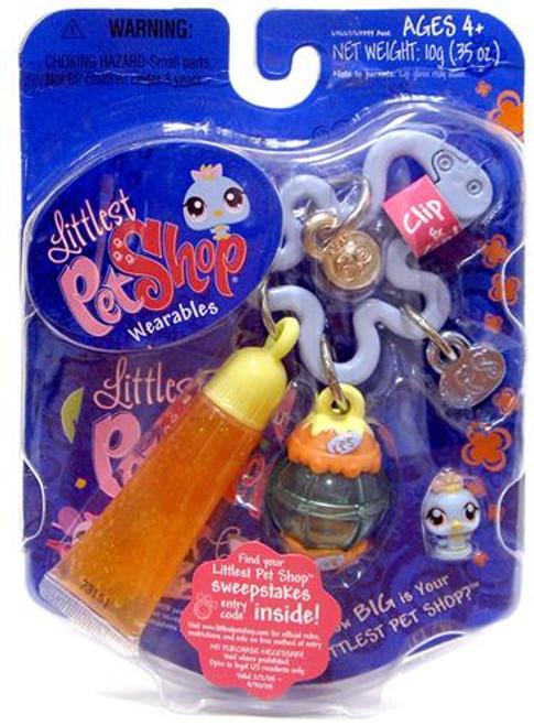 Littlest Pet Shop Wearables Tiniest Pet Shop Bird Mini Figure [With Lip Gloss]