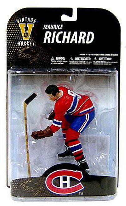 McFarlane Toys NHL Montreal Canadiens Sports Picks Legends Series 7 Maurice Richard Action Figure