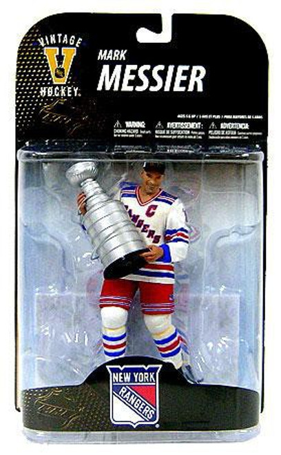 McFarlane Toys NHL New York Rangers Sports Picks Legends Series 7 Mark Messier Action Figure