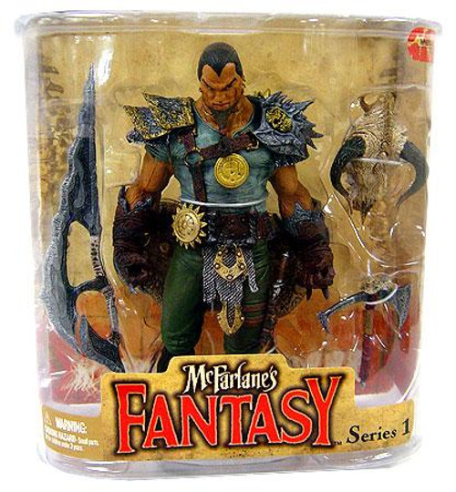 McFarlane Toys McFarlane's Fantasy Series 1 Tyr Action Figure [Dragon Rider]