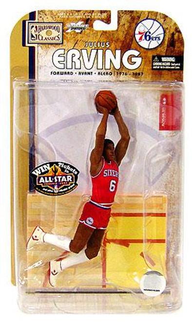 McFarlane Toys NBA Philadelphia 76ers Sports Picks Legends Series 4 Julius Erving Action Figure
