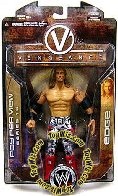WWE Wrestling Pay Per View Series 16 Vengeance Edge Action Figure