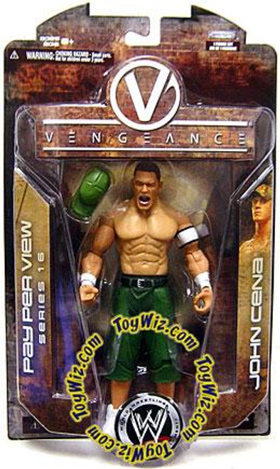 WWE Wrestling Pay Per View Series 16 Vengeance John Cena Action Figure