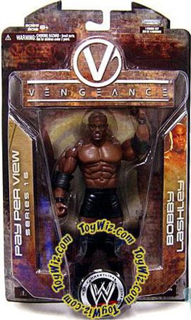 WWE Wrestling Pay Per View Series 16 Vengeance Bobby Lashley Action Figure