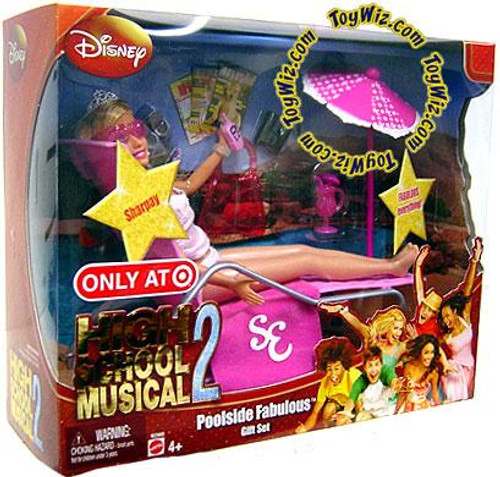 Disney High School Musical 2 Poolside Fabulous Gift Set Exclusive