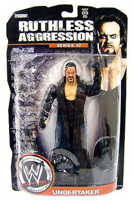 WWE Wrestling Ruthless Aggression Series 32 Undertaker Action Figure