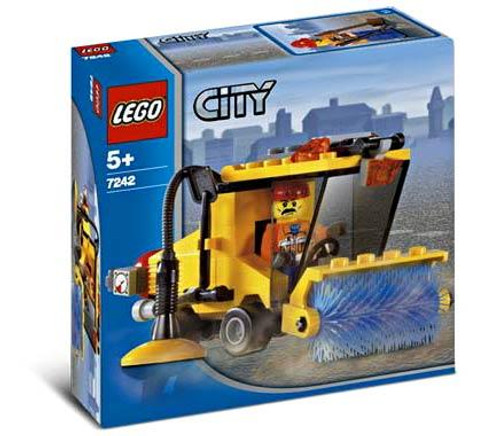 LEGO City Street Sweeper Set #7242