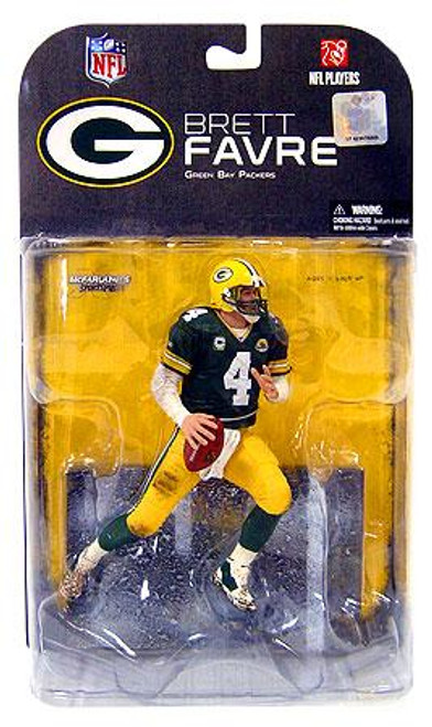 McFarlane Toys NFL Green Bay Packers Sports Picks Series 17 Brett Favre Action Figure ['C' on Jersey]