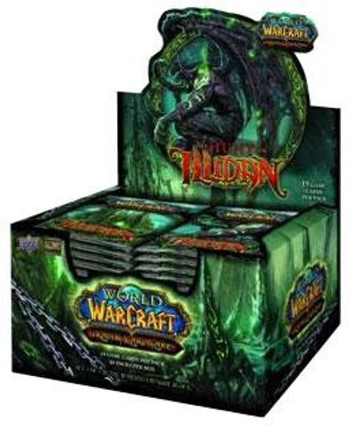 World of Warcraft Trading Card Game The Hunt for Illidan Hunt for Illidan Booster Box