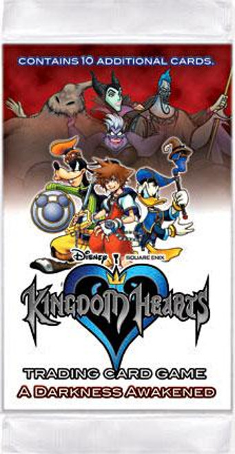 Disney Kingdom Hearts Darkness Awakened Booster Pack