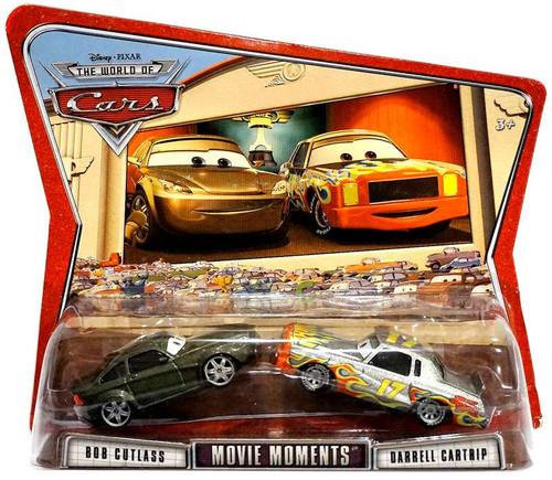 Disney Cars The World of Cars Movie Moments Bob Cutlass & Darrell Cartrip Diecast Car 2-Pack