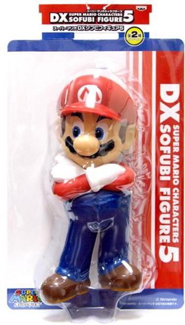 Super Mario DX Sofubi Series 5 Mario 9-Inch Vinyl Figure [Arms Crossed]