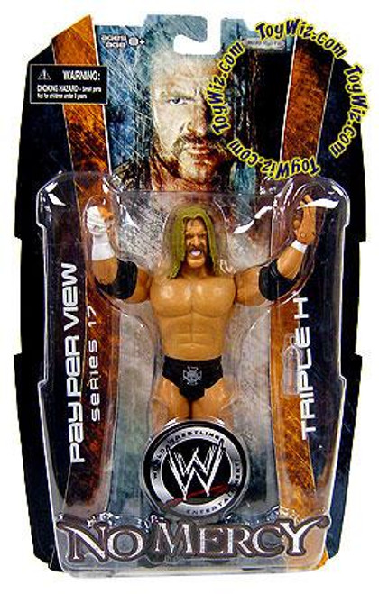 WWE Wrestling Pay Per View Series 17 No Mercy Triple H Action Figure