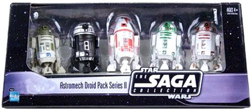Star Wars Saga Collection 2006 Astromech Droid Pack Series II Exclusive Action Figure Set