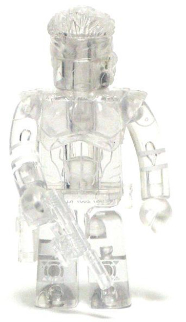 Metal Gear Solid 20th Anniversary Kubrick Solid Snake Chase Minifigure [Active Camo]