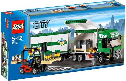 LEGO City Truck & Forklift Exclusive Set #7733