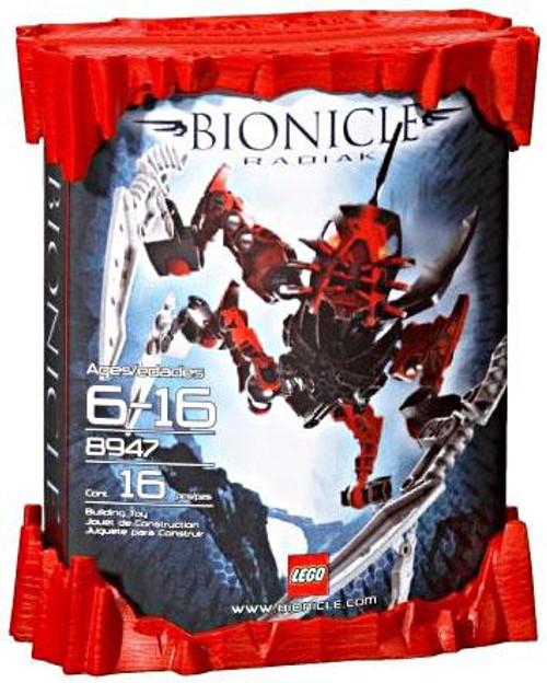 LEGO Bionicle Phantoka Matoran Radiak Set #8947