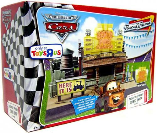 Disney Cars The World of Cars Race-O-Rama Radiator Springs Curio Shop Exclusive Playset