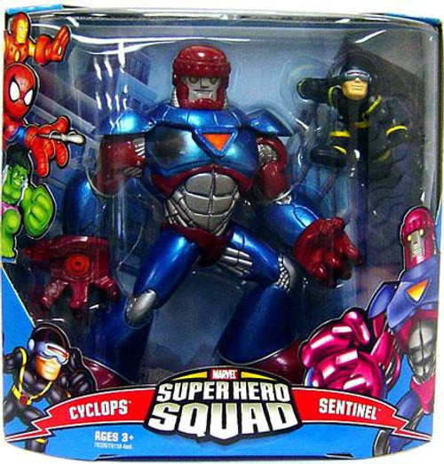 Marvel Super Hero Squad Series 3 Sentinel & Cyclops Action Figure 2-Pack
